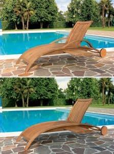 Harmony Liege, Zum Pool und Garten, Motiv mit Vertikal-Lamellen Sonnenbank
