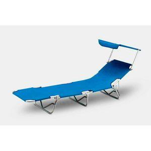 Lettino mare sdraio alluminio pieghevole spiaggia parasole VERONA LUX - VE800LUX, Klappbarer Aluminium-Meeresboden