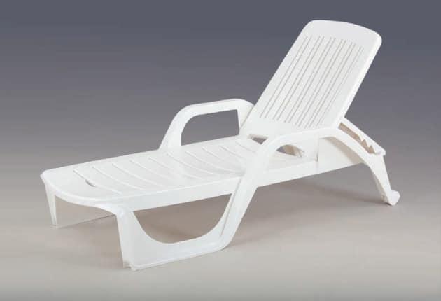 Liegestuhl kunststoff m belideen for Stuhl plastik holzbeine