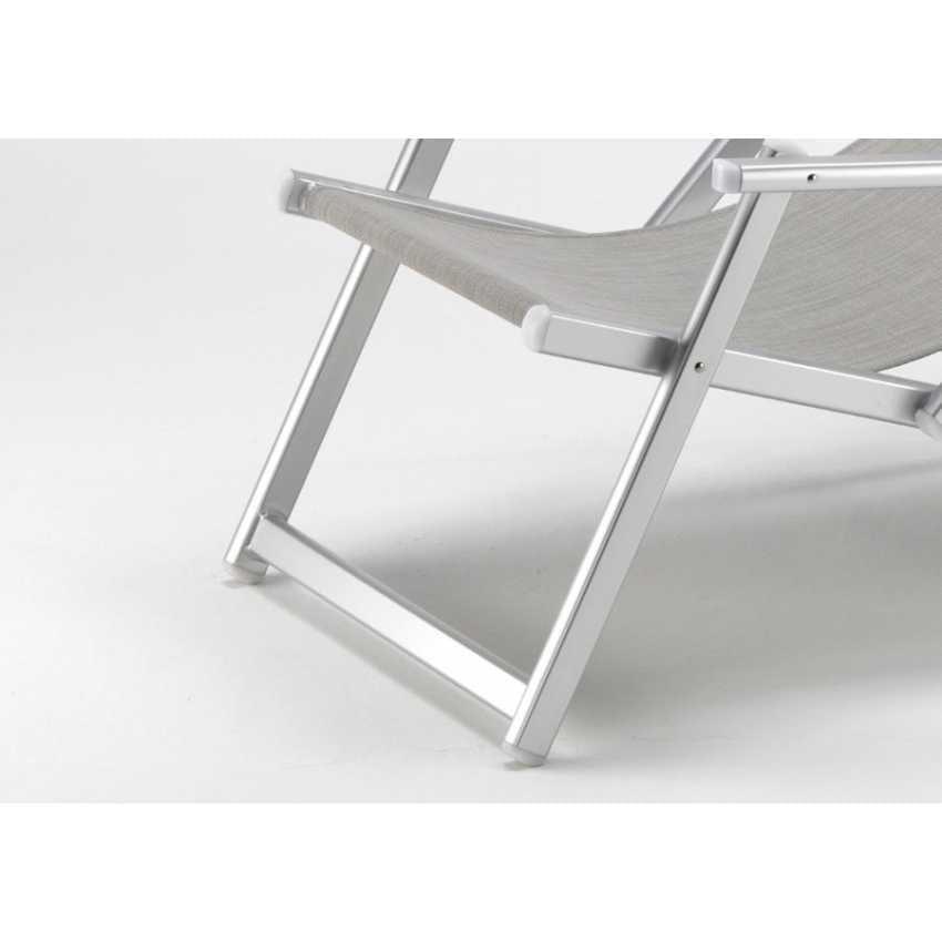 Liegestuhl mit armlehnen und verstellbare r ckenlehne for Design liegestuhl