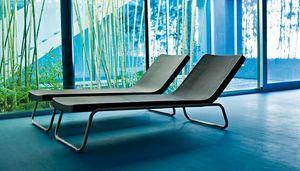 Time Out chaise lungue, Sonnenliege für Spa und Schwimmbecken, fest oder Liege