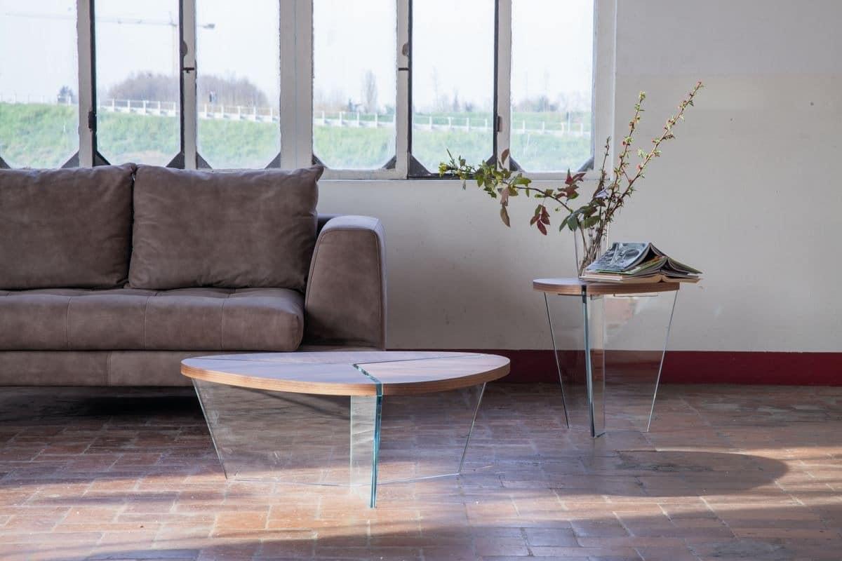 elegante kaffeetische in holz und glas f r wohnzimmer idfdesign. Black Bedroom Furniture Sets. Home Design Ideas