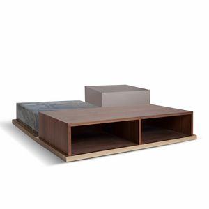 Brick, Couchtische mit linearem Design