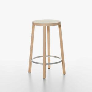 Blocco mod. 8500-00/60, Wesentliche Holzstuhl, hohe Bauform, für Küche