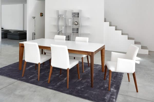 Holztisch massiv modern neuesten design for Exklusive esstische holz