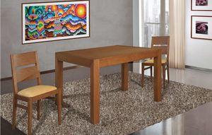 Art. 663, Holztisch mit einem strengen Design