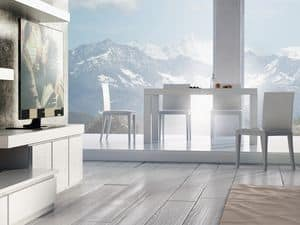 Ergänzungen Tisch 01, Erweiterbar Holztisch, für modernes Wohnen