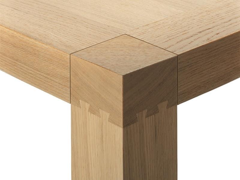 Holztisch moderne k che idfdesign for Moderne holztische