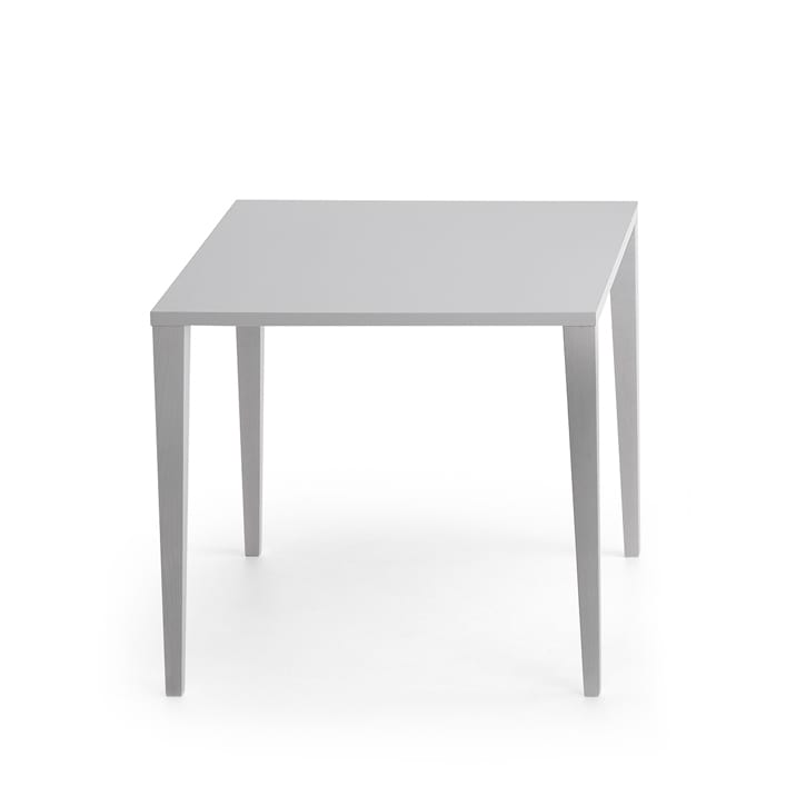 Lackierter Quadratischer Tisch Aus Holz Idfdesign