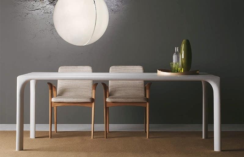 Tabelle komplett in eiche f r moderne k che idfdesign for Moderne holztische