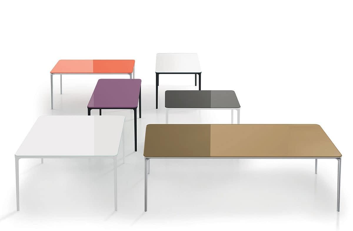 hoch design tische tische hoch design metall und glas. Black Bedroom Furniture Sets. Home Design Ideas