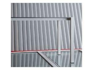 Space cod. 103, Dauerhafte eloxiertem Aluminium Tisch für Bars und Hotels