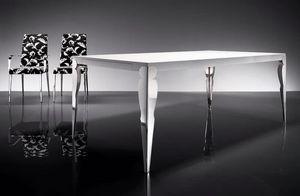 ART. 257/F HOLLYWOOD TABLE, Moderne Esstisch, für Wohnzimmer