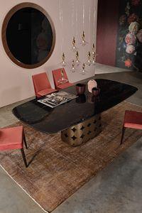 POIS, Fester Tisch mit künstlerischer Basis