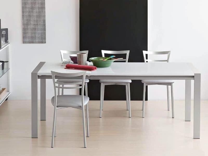 tische tische modern design metall und glas idf. Black Bedroom Furniture Sets. Home Design Ideas