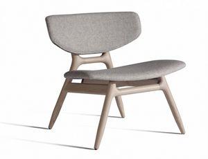 Eco 501T, Sessel mit gepolstertem Sitz und Rücken