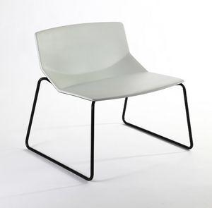Formula tech LO, Lounge-Sessel, Polyurethan- Ummantelung für Lounge- und Wartebereiche