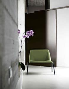 Plate 70, Stuhl mit großem Sitz, für Häuser oder Wartezimmer
