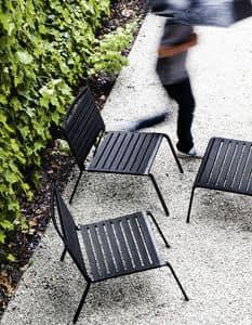 Rest Lounge, Außen-Sessel aus Aluminium und Polyester