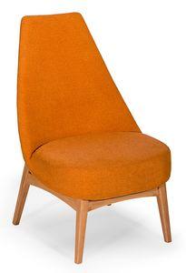 Simo queen, Niedriger Stuhl mit großzügigen Abmessungen