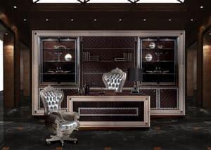 Decò B/140/1/S, Drehsessel für Klassiker Büros geeignet