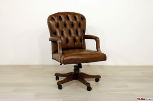 Wall Street, Drehbarer Sessel mit kleinen Abmessungen für kleine Büros