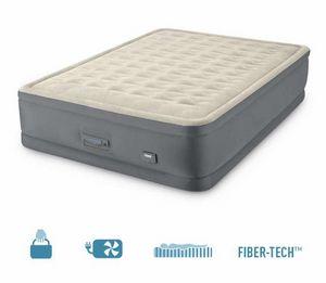 Aufblasbare Doppelmatratze Intex 64926 Mit USB 152x203x46cm, Doppelte aufblasbare Matratze