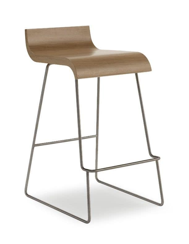 Sitze hocker modern design metall und holz idfdesign for Moderne barhocker design