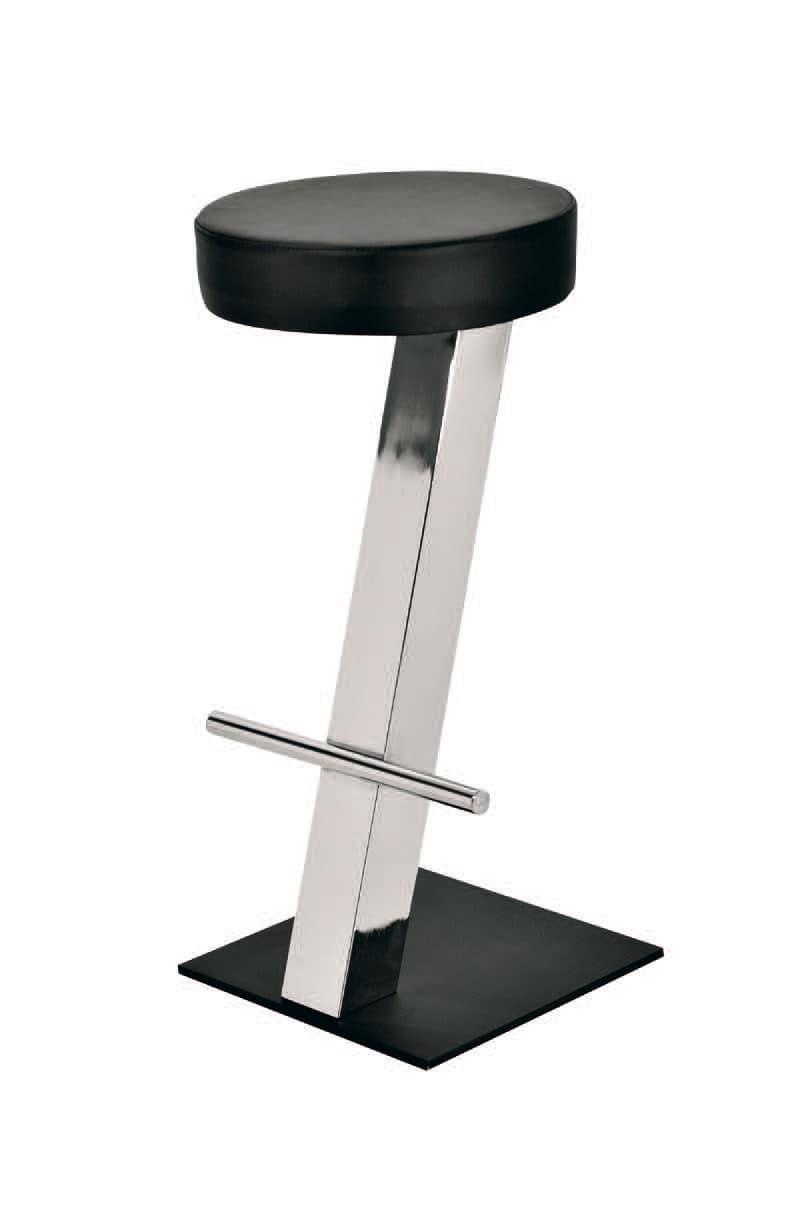 SG 019 / T, Einfache Hocker mit kreisförmigen Sitz, für Snack-Bars