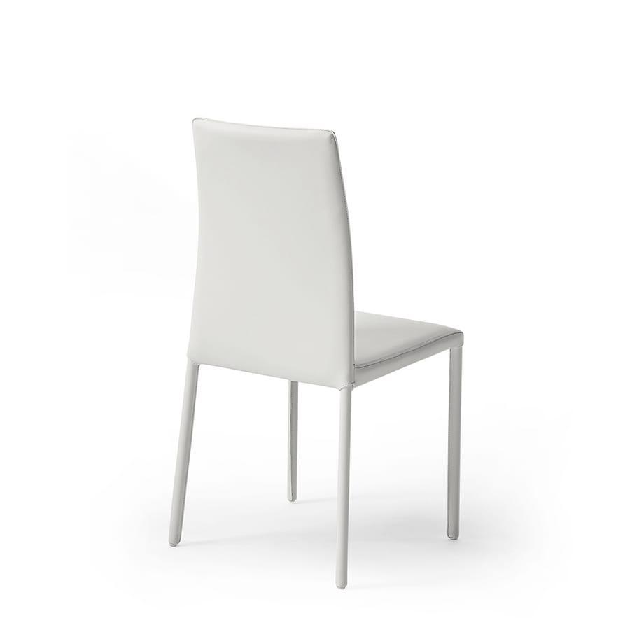 Moderne Sessel Mit Hoher Rückenlehne Mit Leder überzogen Idfdesign