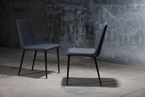 ART. 302 DESIRÉE, Moderne Sessel für zu Hause, Stuhl mit Polsterkörper für Coffee-Shop