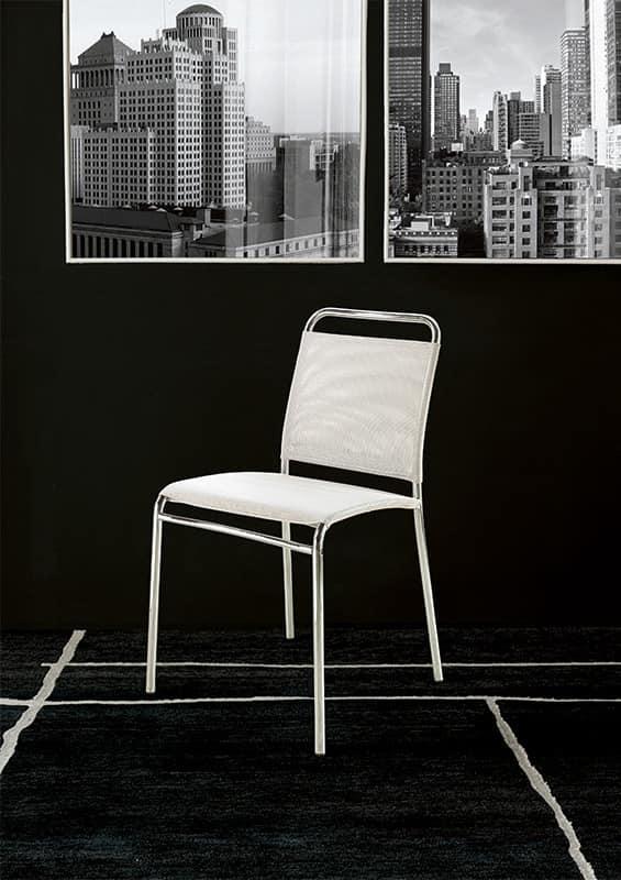 Avana leder oder stoff stuhl linearer stuhl lineare for Design stuhl barocco