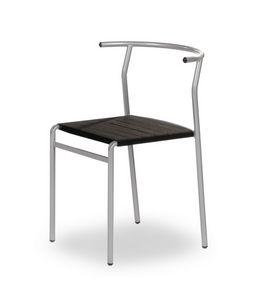 Cafè Chair, Stapelbarer Stuhl, bequem und robust