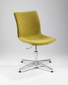 Caleidos 180 four, Höhenverstellbarer Stuhl, zum Besprechungsraum