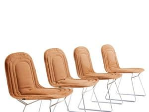 Chapeau stuhl, Komfortable Stuhl, mit gepolstertem Sitz