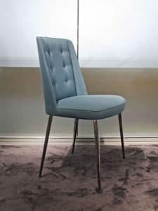 Embrace Moi, Sitz gepolstert, Metallrahmen, ideal für moderne Umgebungen