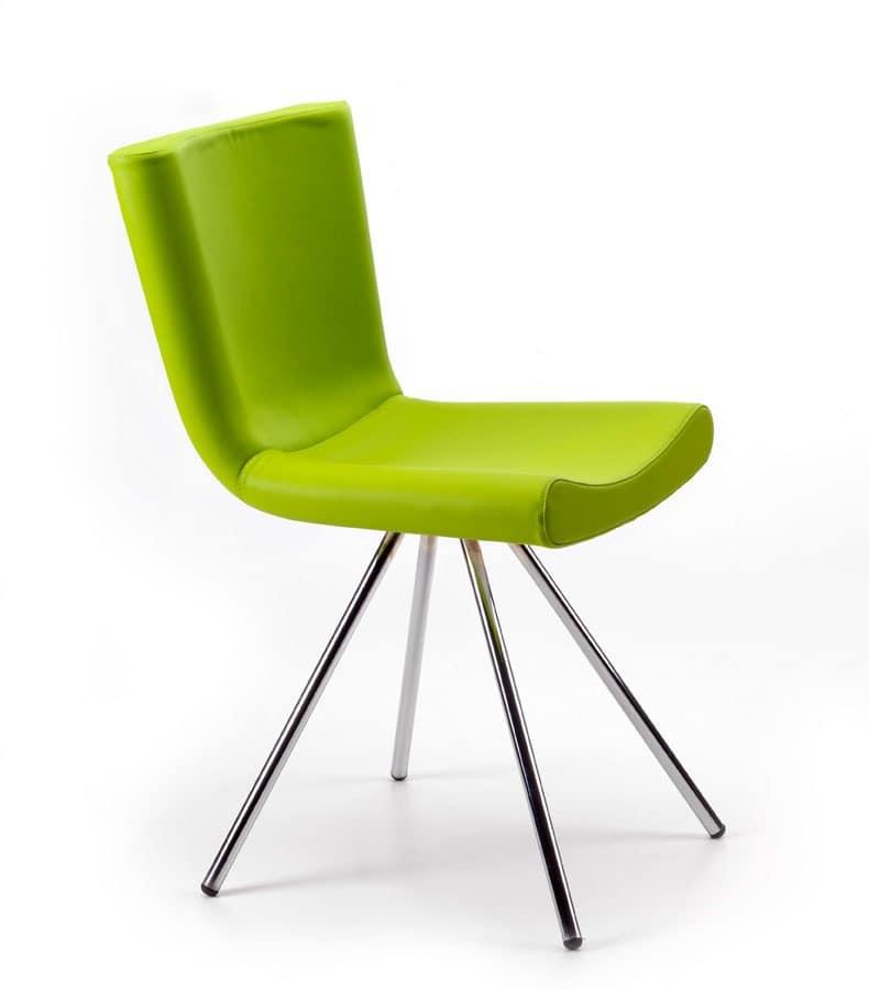 Sitze st hle modern metall und gepolstert idf for Stuhl design award