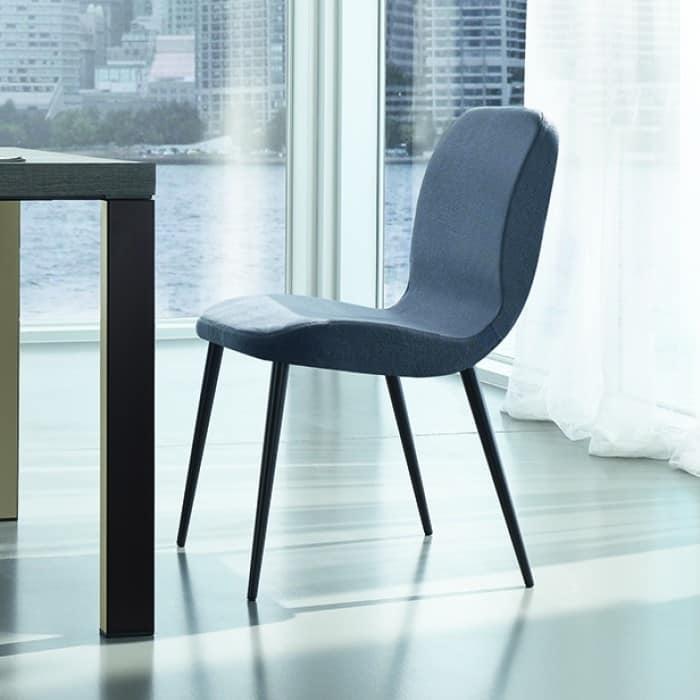 painted metallstuhl gepolstert verschiedene. Black Bedroom Furniture Sets. Home Design Ideas