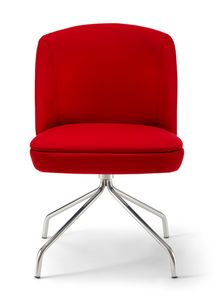 Noemi 3, Trestle Stuhl aus Metall