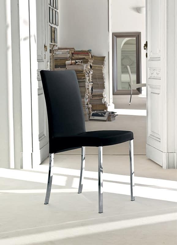 sitze st hle modern metall und gepolstert idf. Black Bedroom Furniture Sets. Home Design Ideas