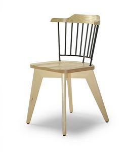 CG 958081, Stuhl aus Holz und Metall