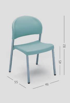 SI 31, Sessel für Restaurants und Wohnungen