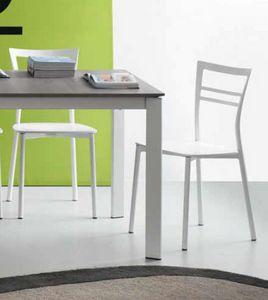 Step, Küchenstuhl aus Metall