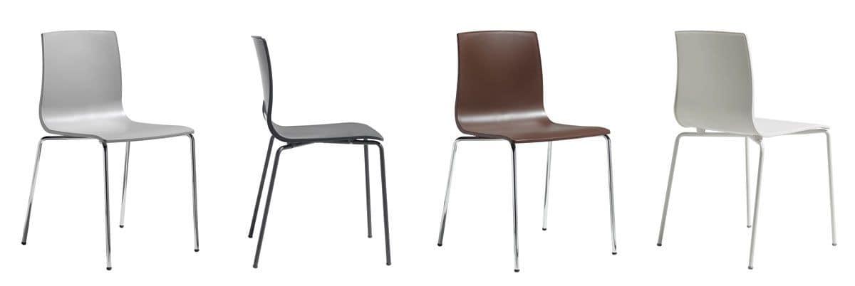 stuhl mit metallstruktur f r zuhause idfdesign. Black Bedroom Furniture Sets. Home Design Ideas