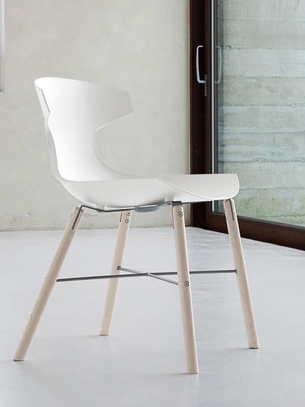 echo l preis esszimmer stuhl mit beinen aus metall. Black Bedroom Furniture Sets. Home Design Ideas