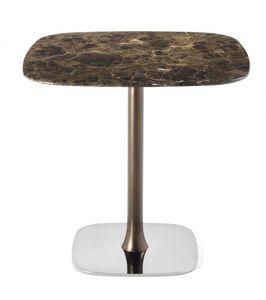 Rendez-vous 40.0501, Tisch mit Metallgestell und anpassbarem Oberteil