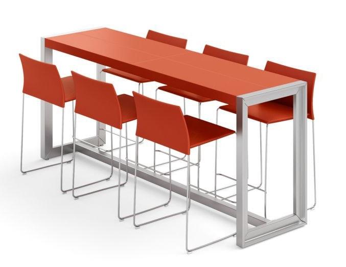Hohe Tische Mit Lederplatte
