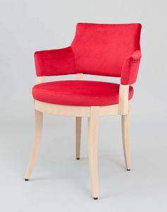 BS453A – Poltrona, Sessel mit perforiertem Rücken