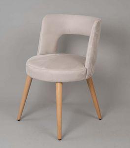 BS469A - Sessel, Sessel mit gepolstertem Sitz