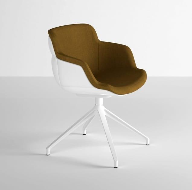 Choppy Sleek U, Sessel mit großem Sitz